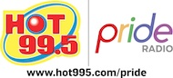 HOT 995 and Pride Radio Logo SMALL 2012 with Web